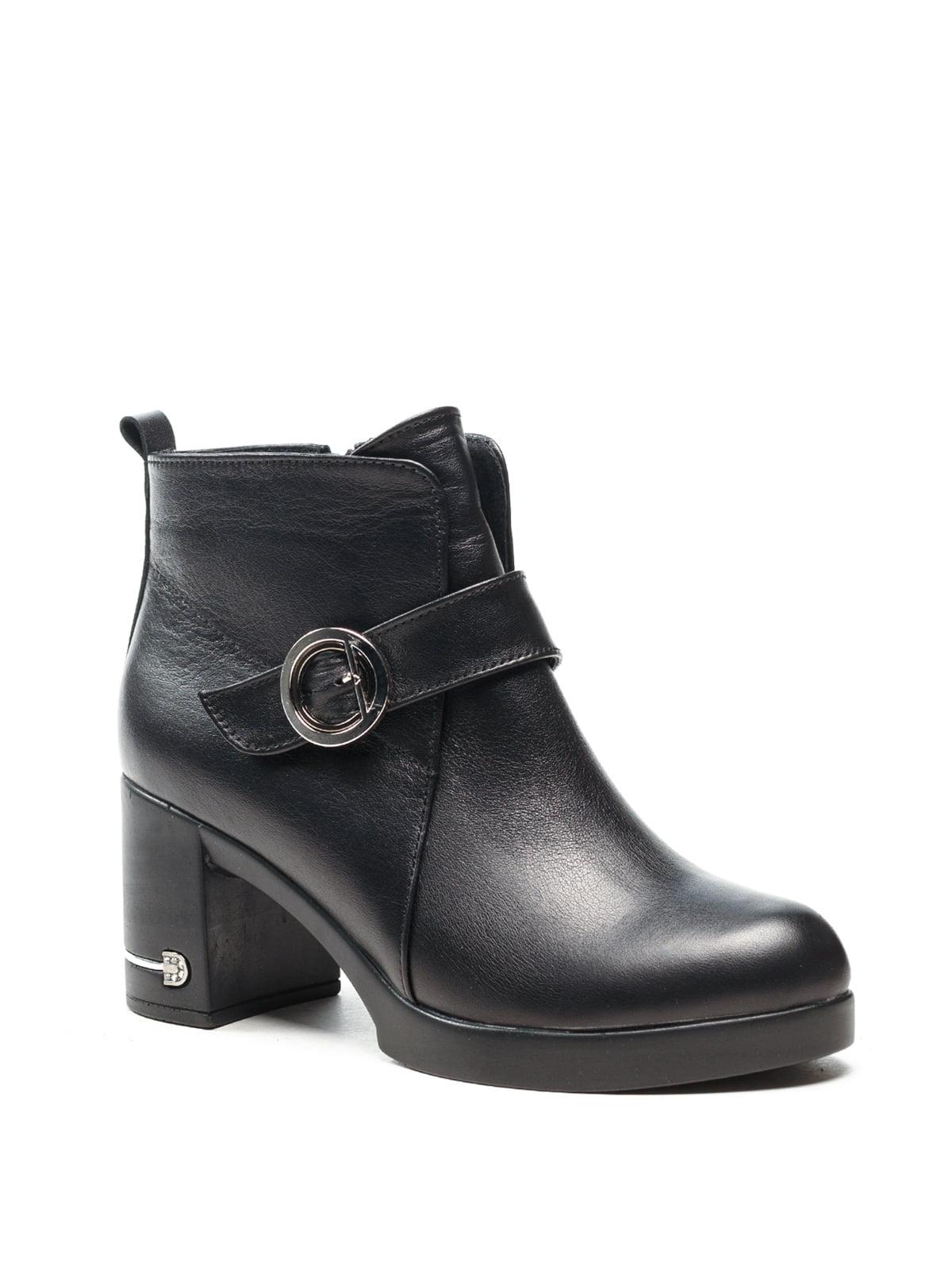 Ботинки черные | 5142889