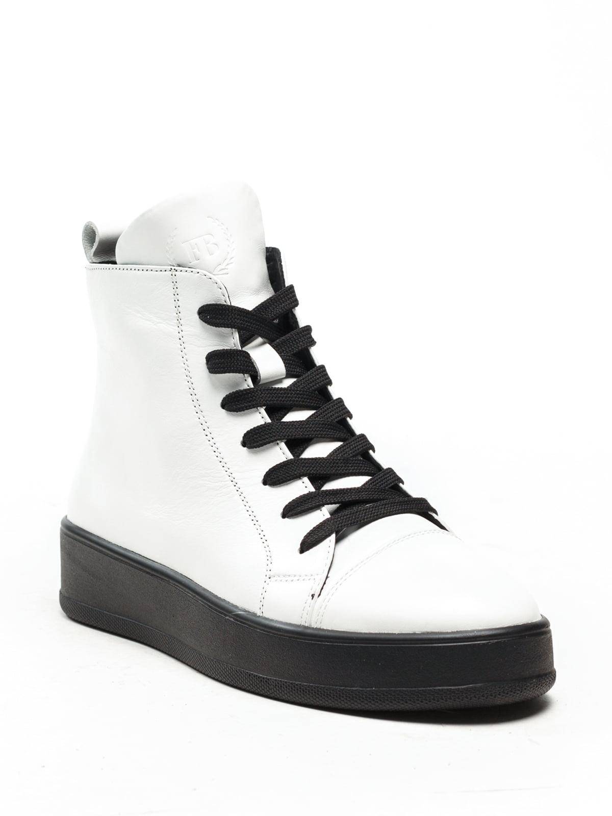 Ботинки белые | 5142878