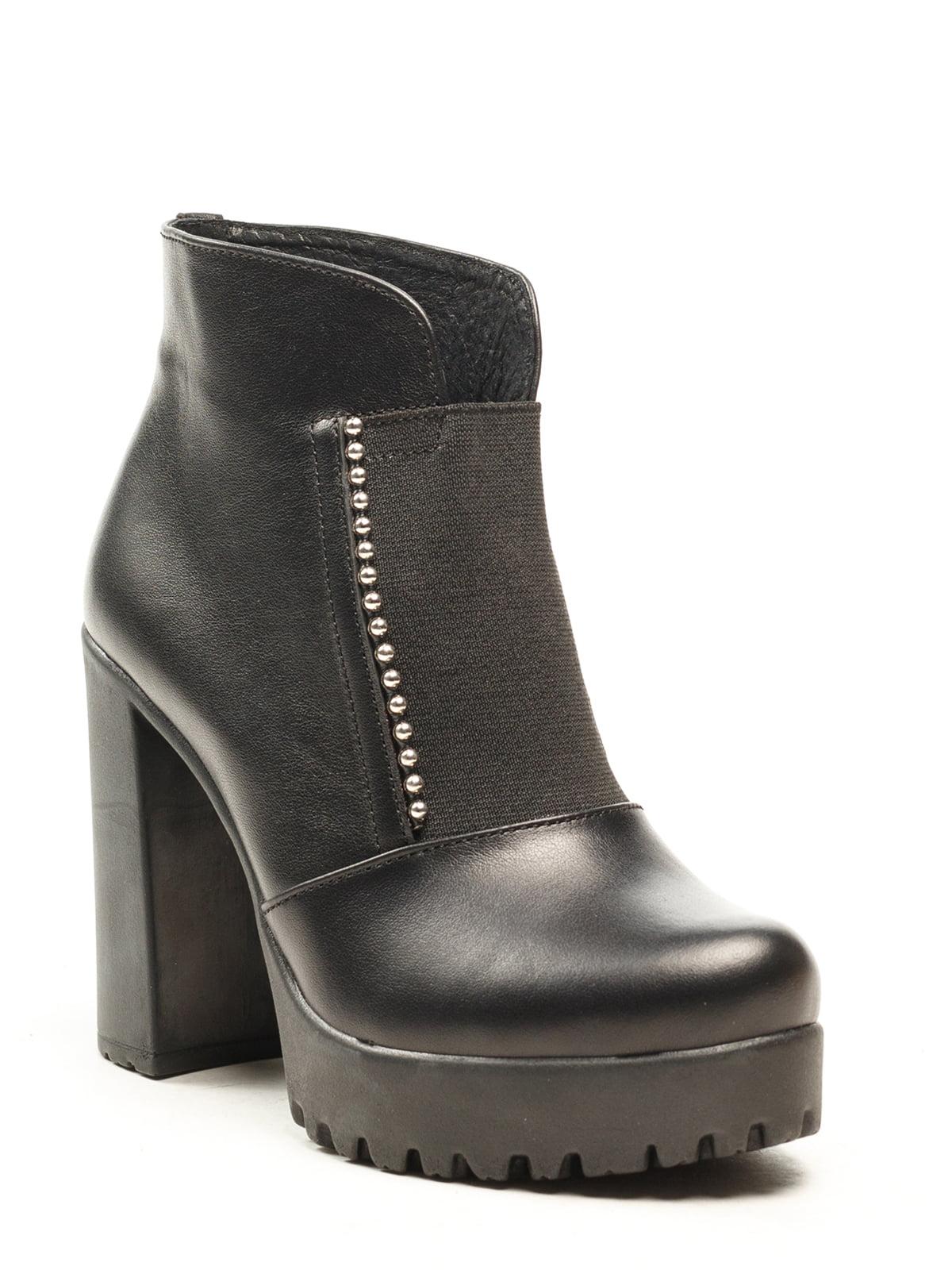 Ботинки черные | 5142876