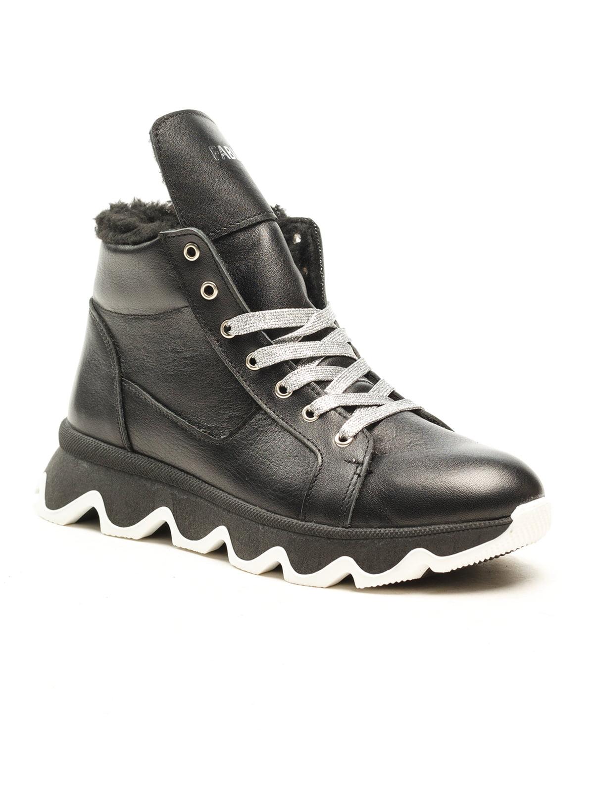 Ботинки черные | 5142901