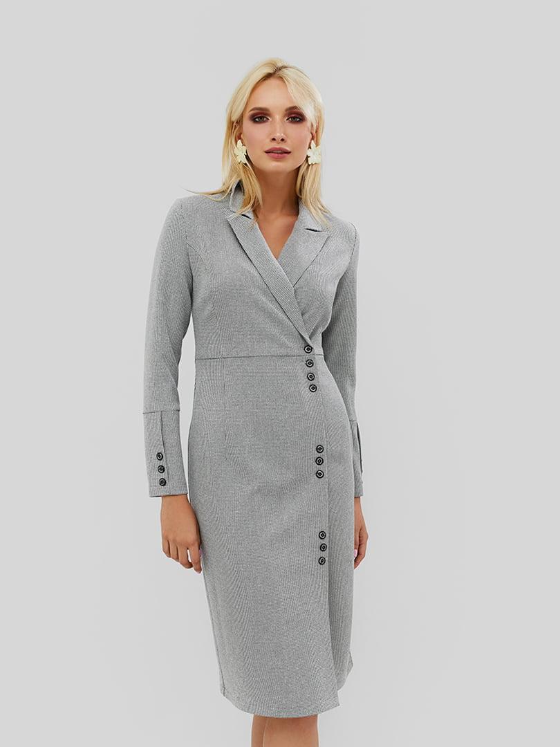 Платье серое | 5142417