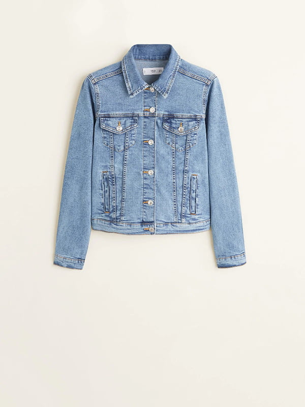 Куртка джинсовая голубая | 5139992
