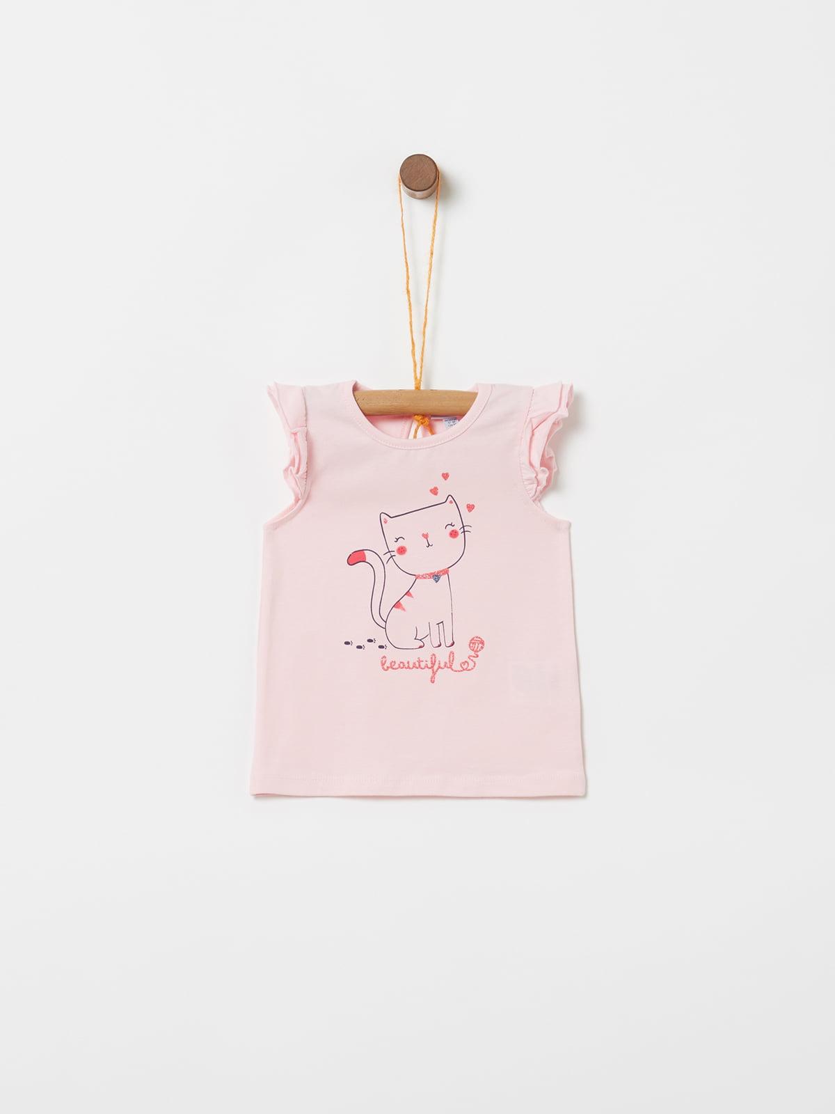 Футболка рожева | 5148964