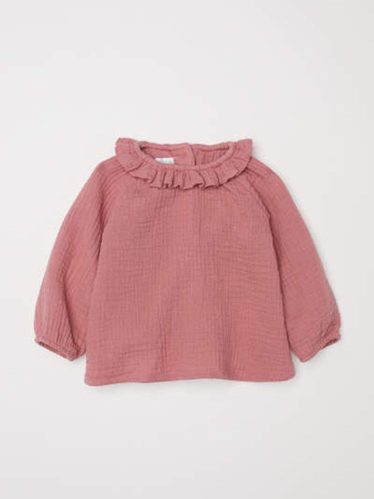 Блуза темно-розовая | 5135061