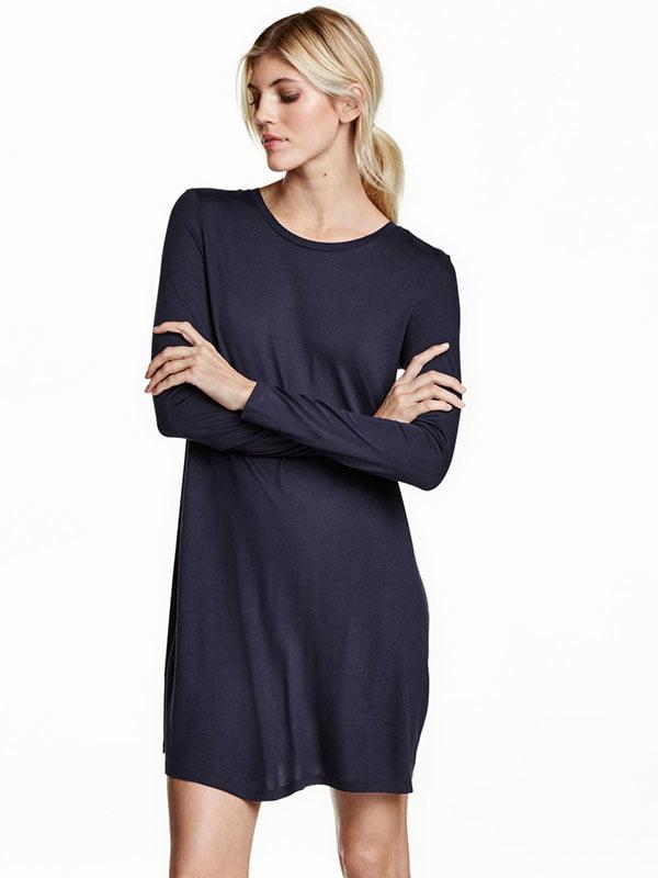 Платье синее   5147652