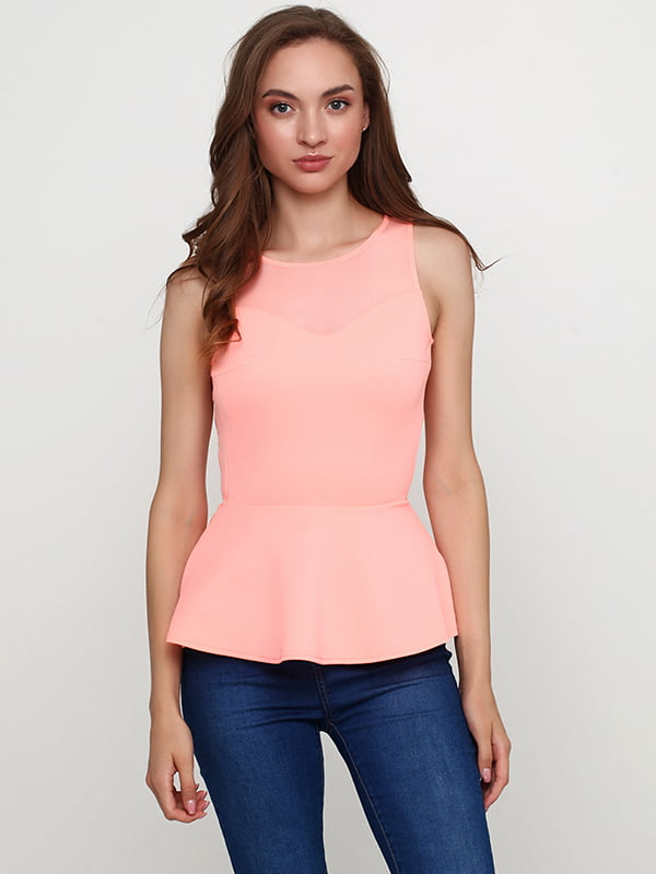 Блуза персикового кольору | 5147778