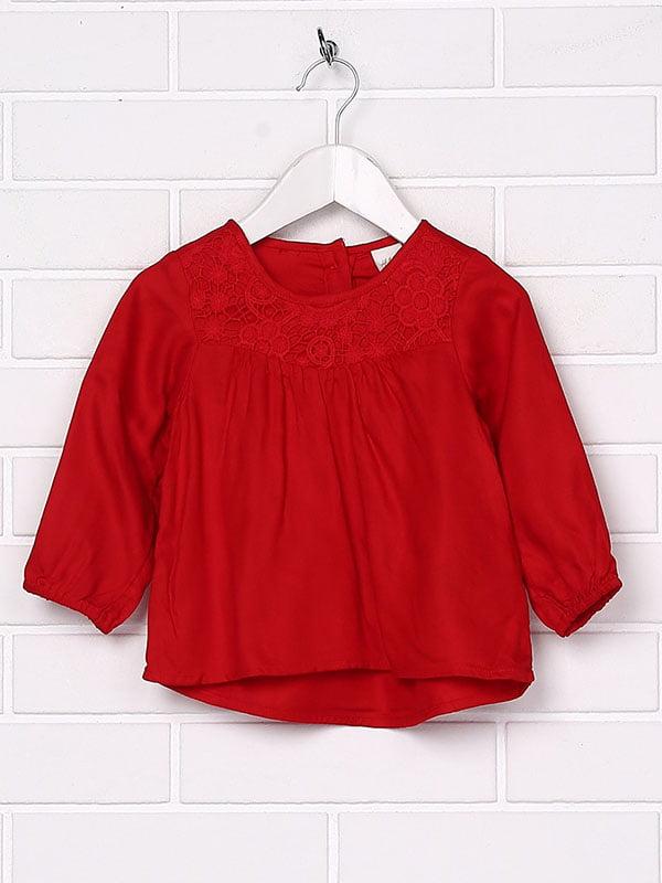 Блуза червона | 5148293