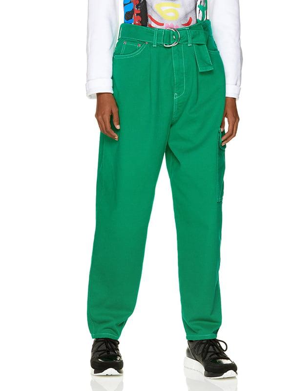 Джинсы зеленые | 5149903