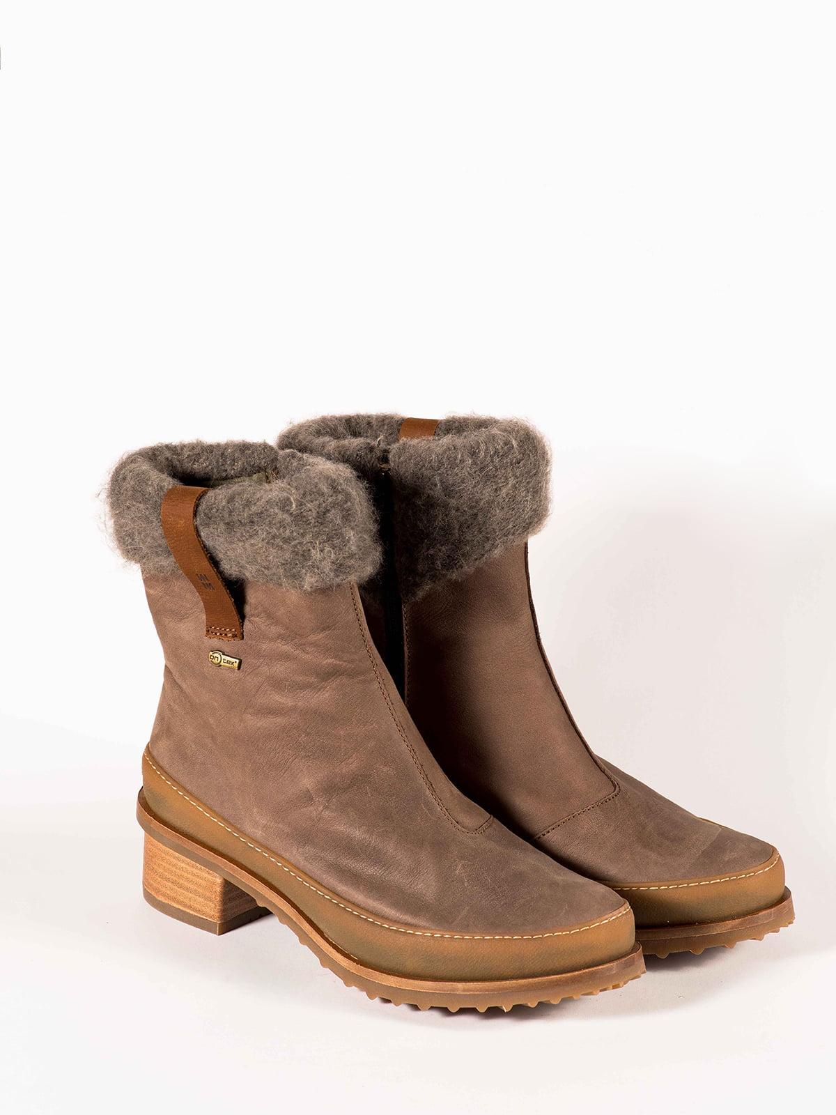 Ботинки серые | 5150367