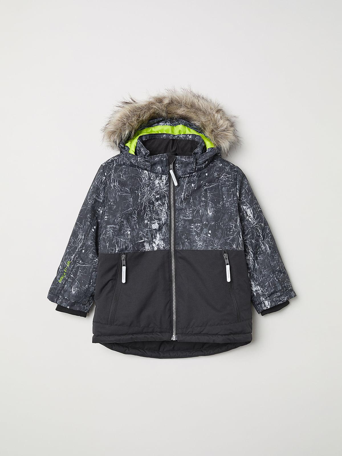 Куртка темно-серая | 5147775