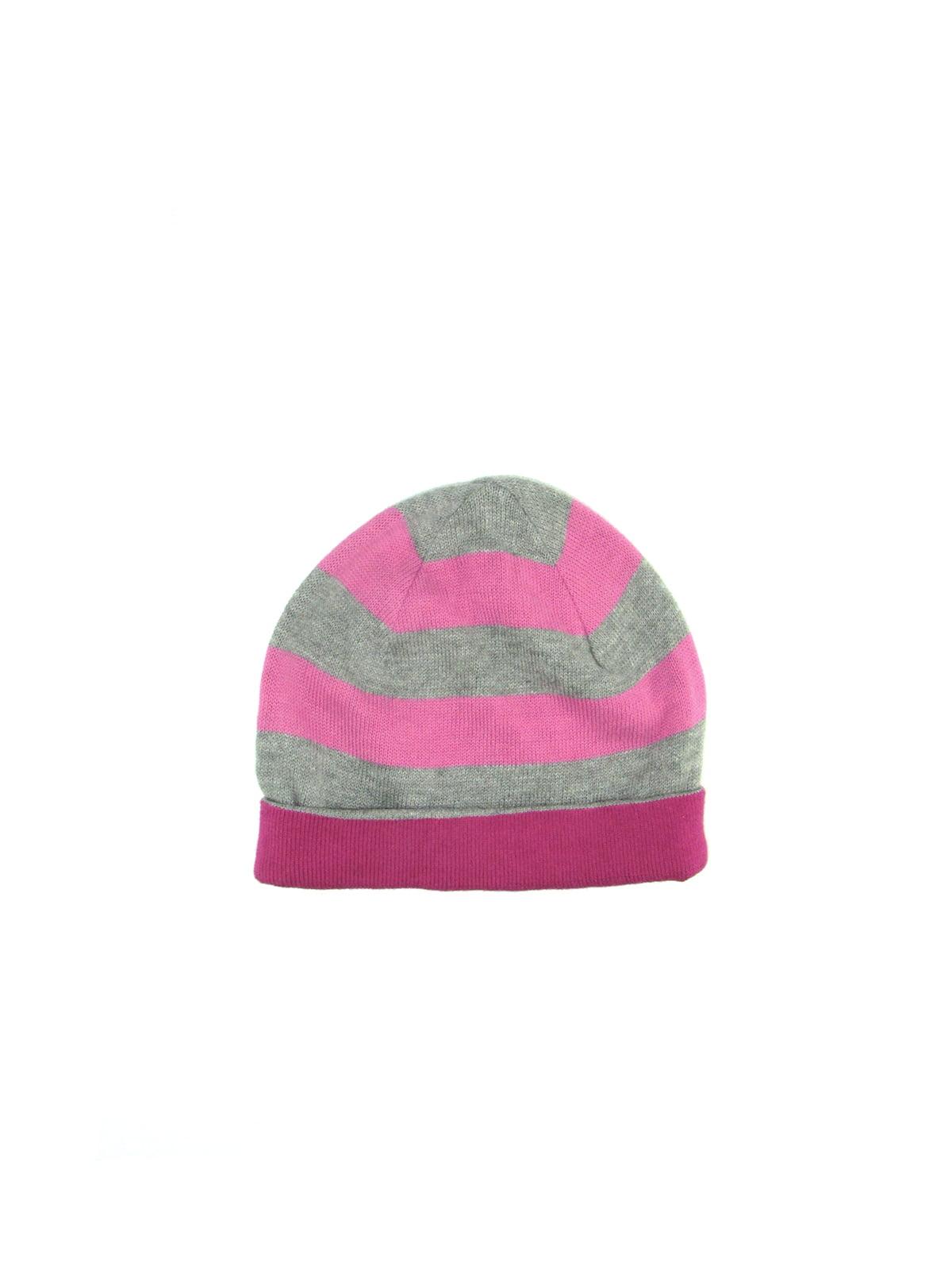 Шапка рожево-сіра | 5148957