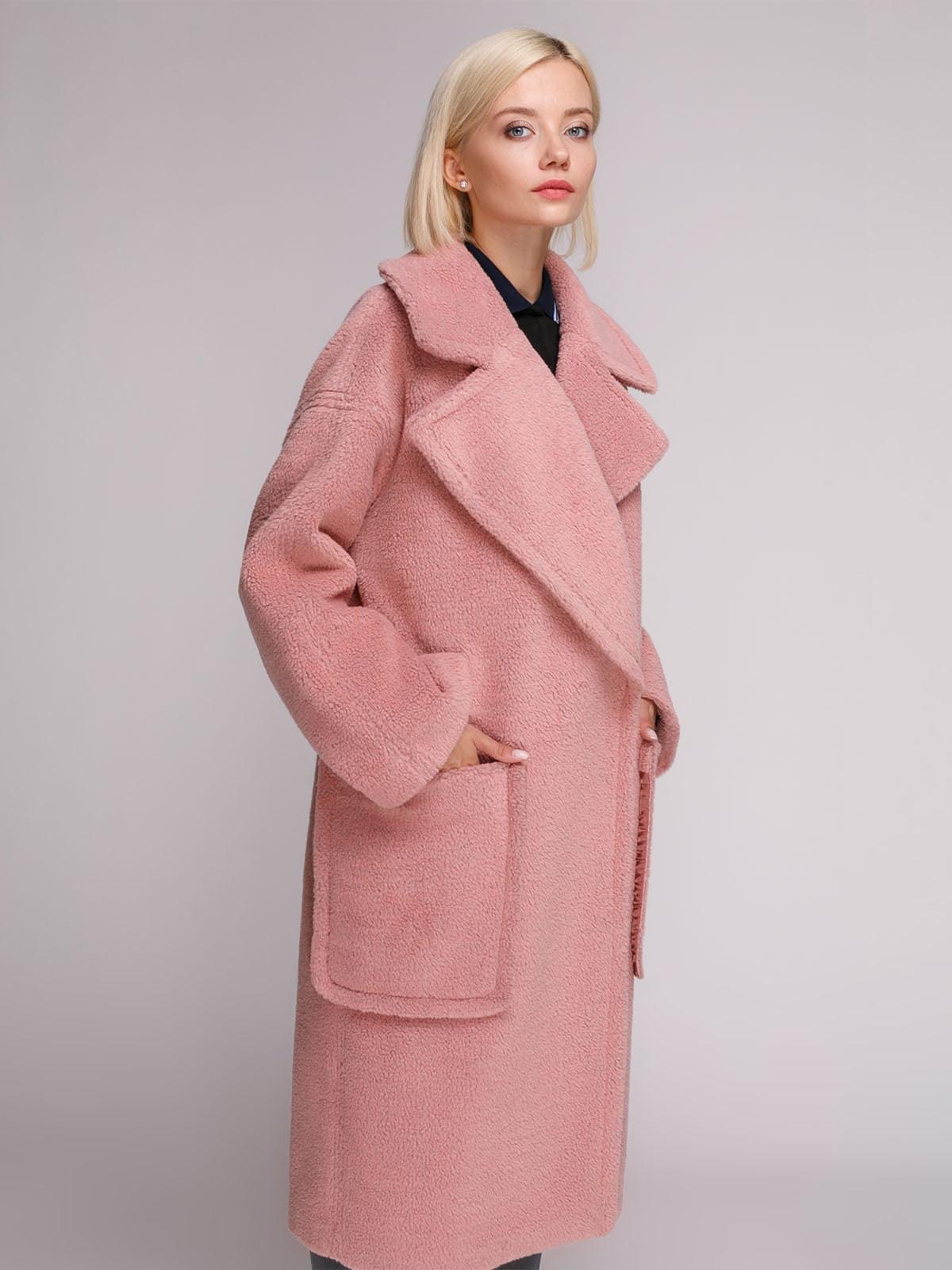 Пальто розовое   5126244
