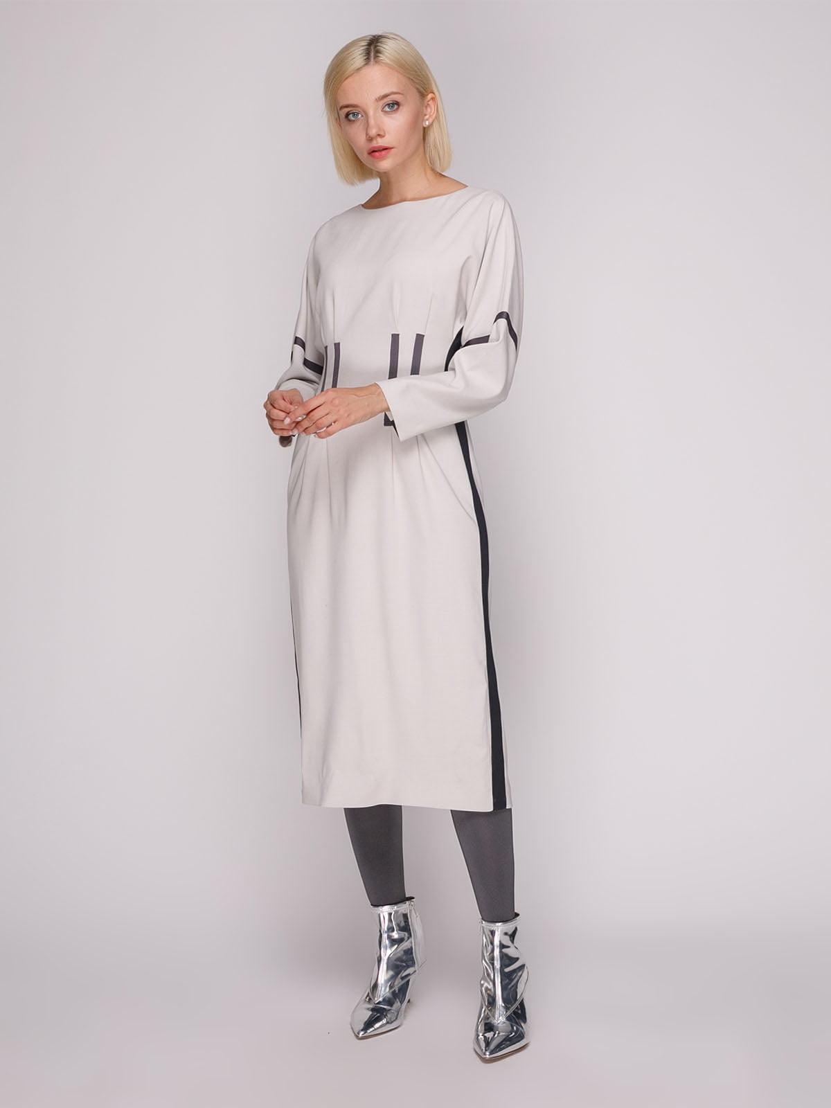 Платье серое | 5149386