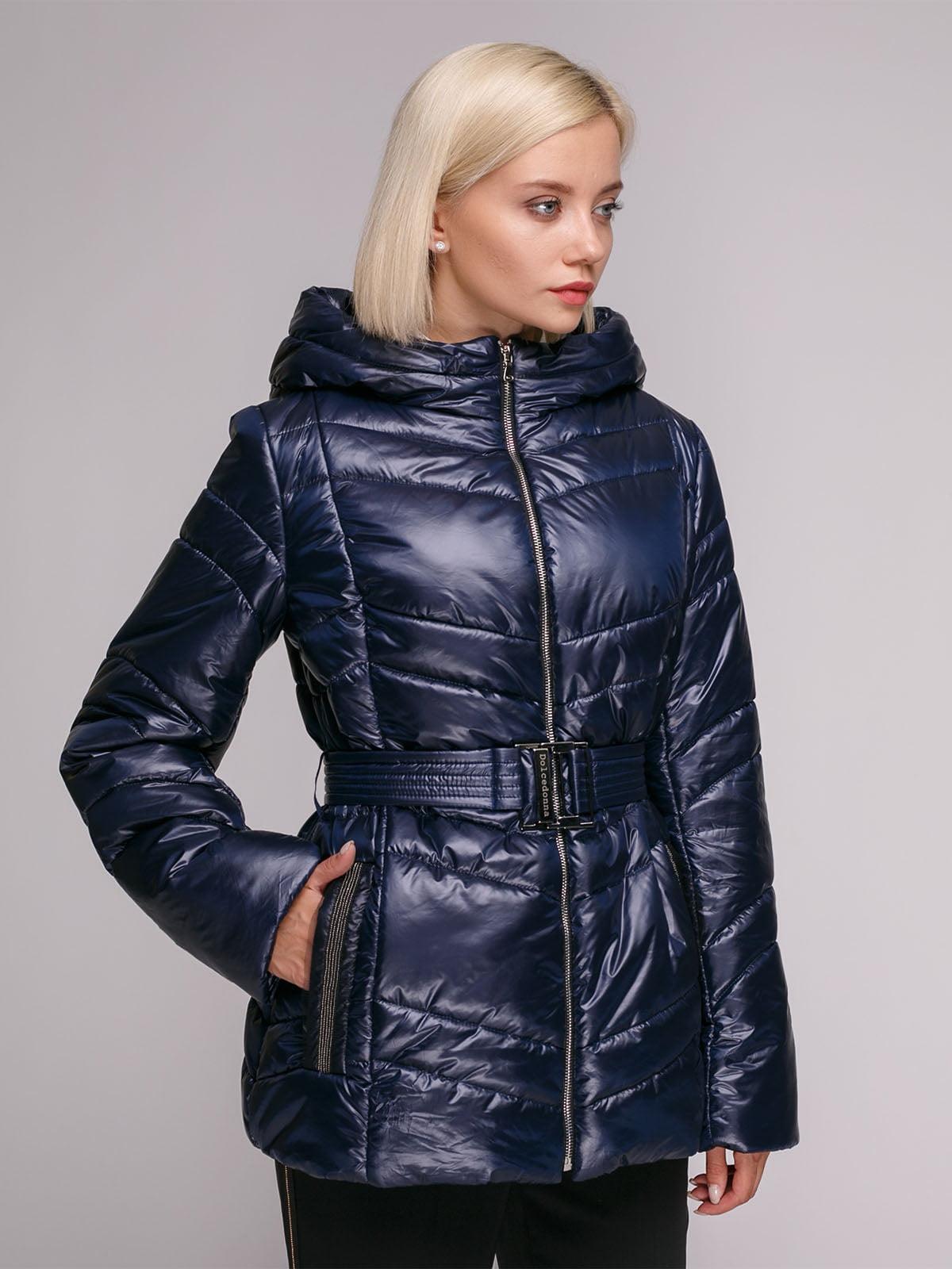 Куртка синя | 5149358