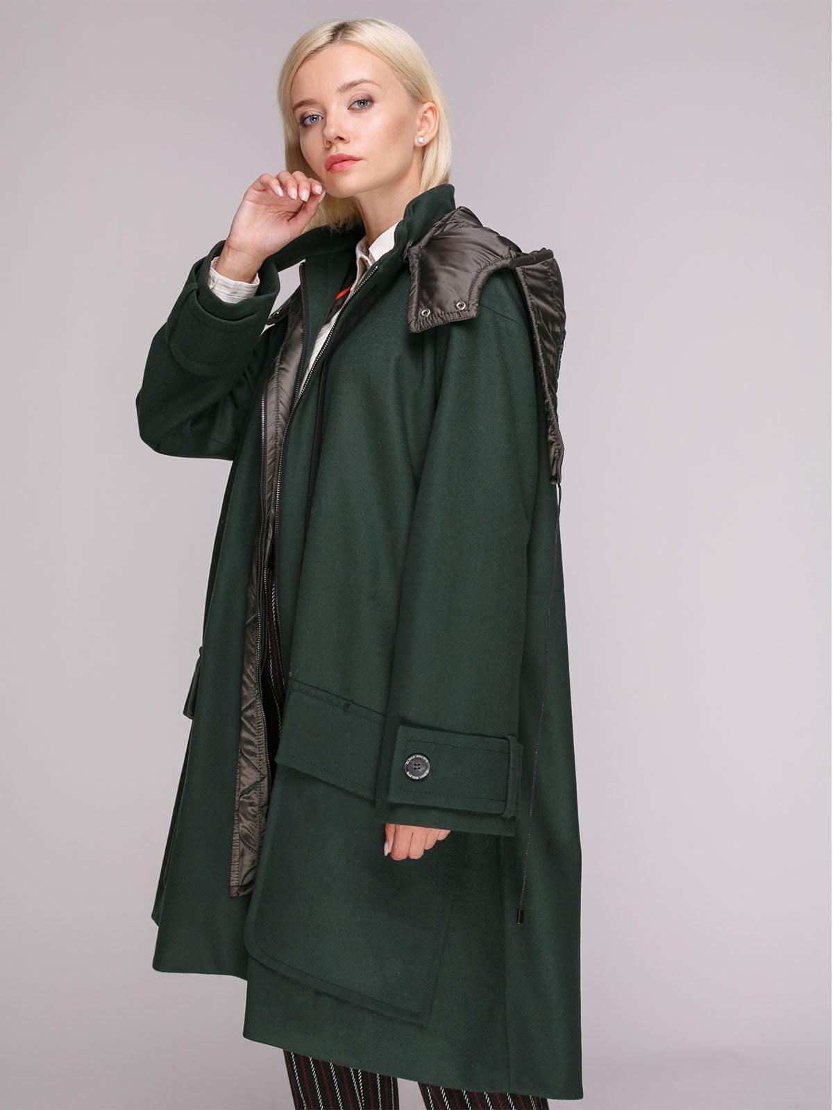 Пальто зелене | 5149392