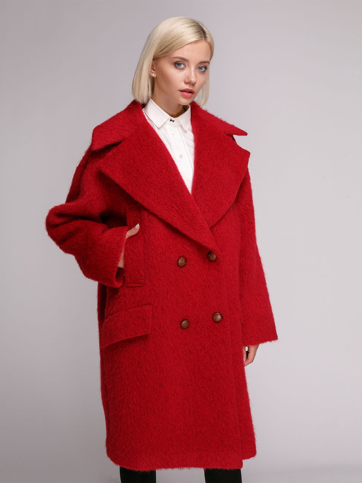Пальто червоне | 5149376