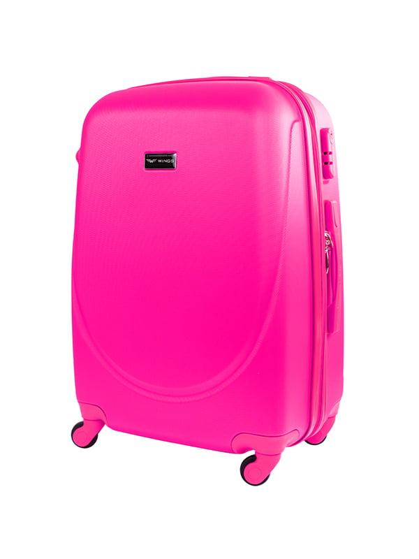 Чемодан большой розовый   5152871