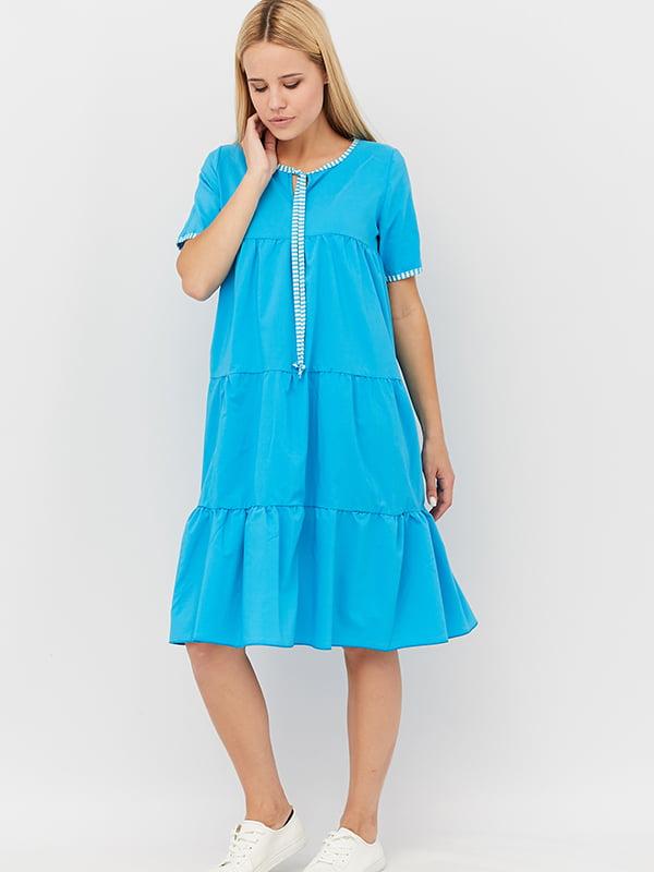 Платье голубое   5153736