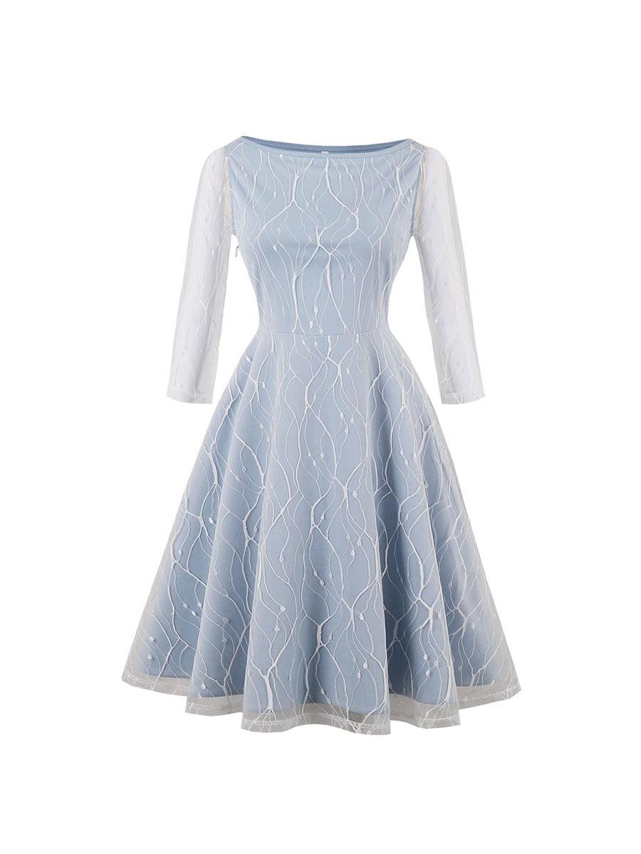 Сукня блакитна | 5154008