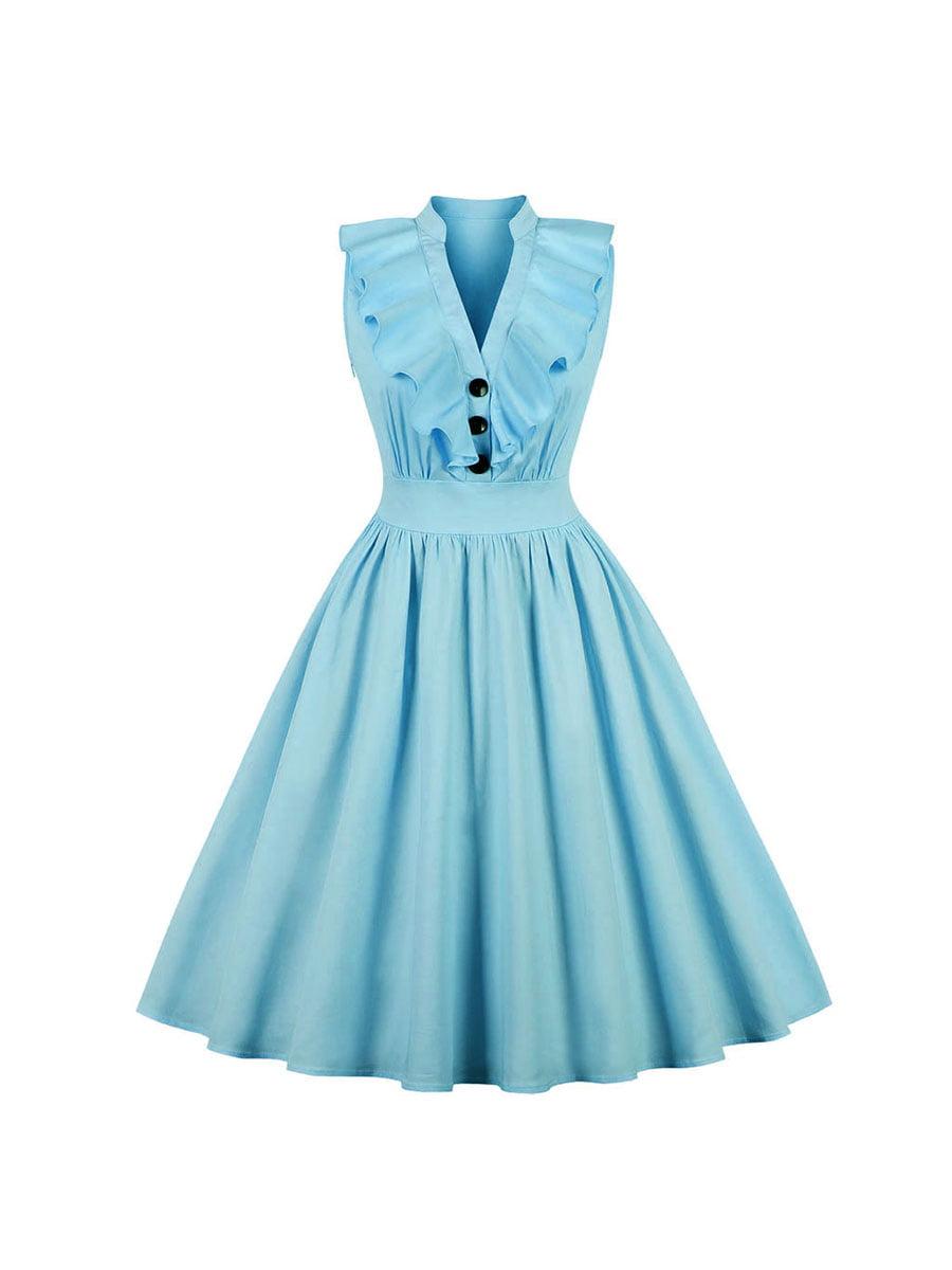 Сукня блакитна | 5154104