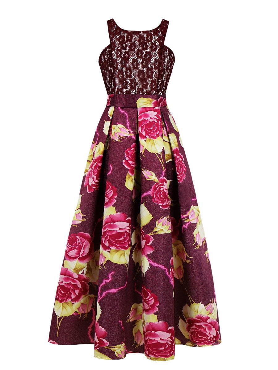 Сукня бордова | 5154117