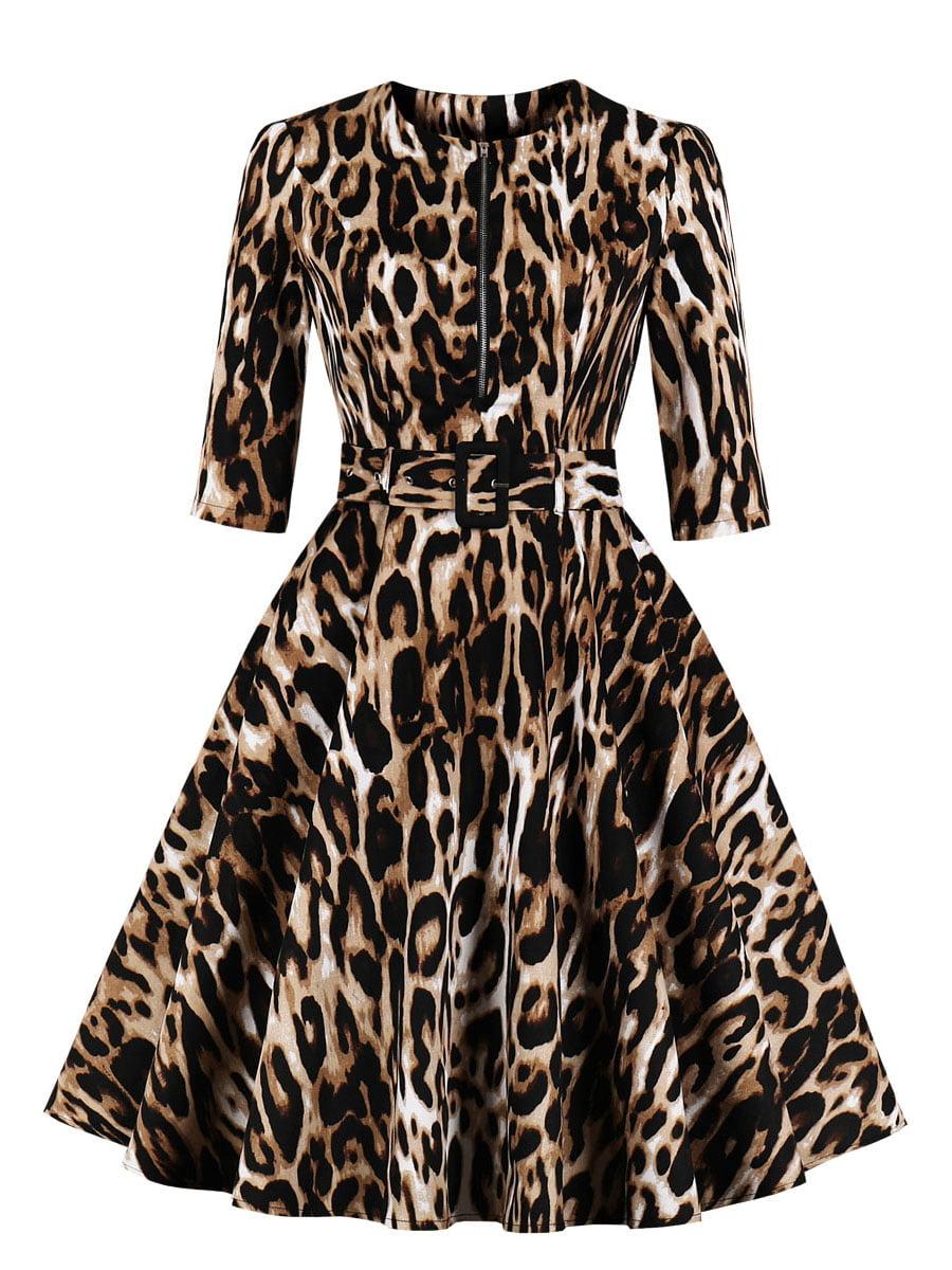 Сукня в анімалістичний принт   5154136