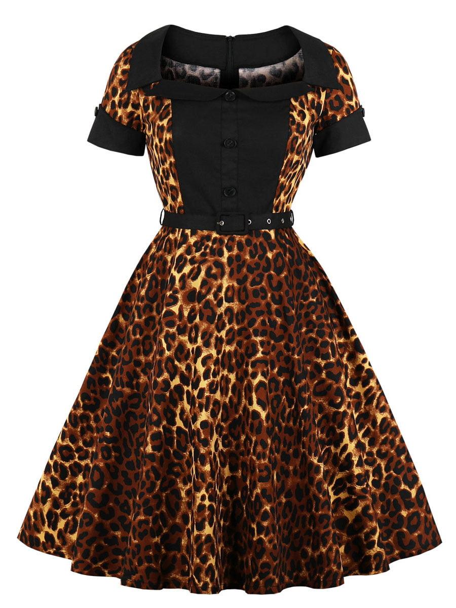 Сукня в анімалістичний принт | 5154112
