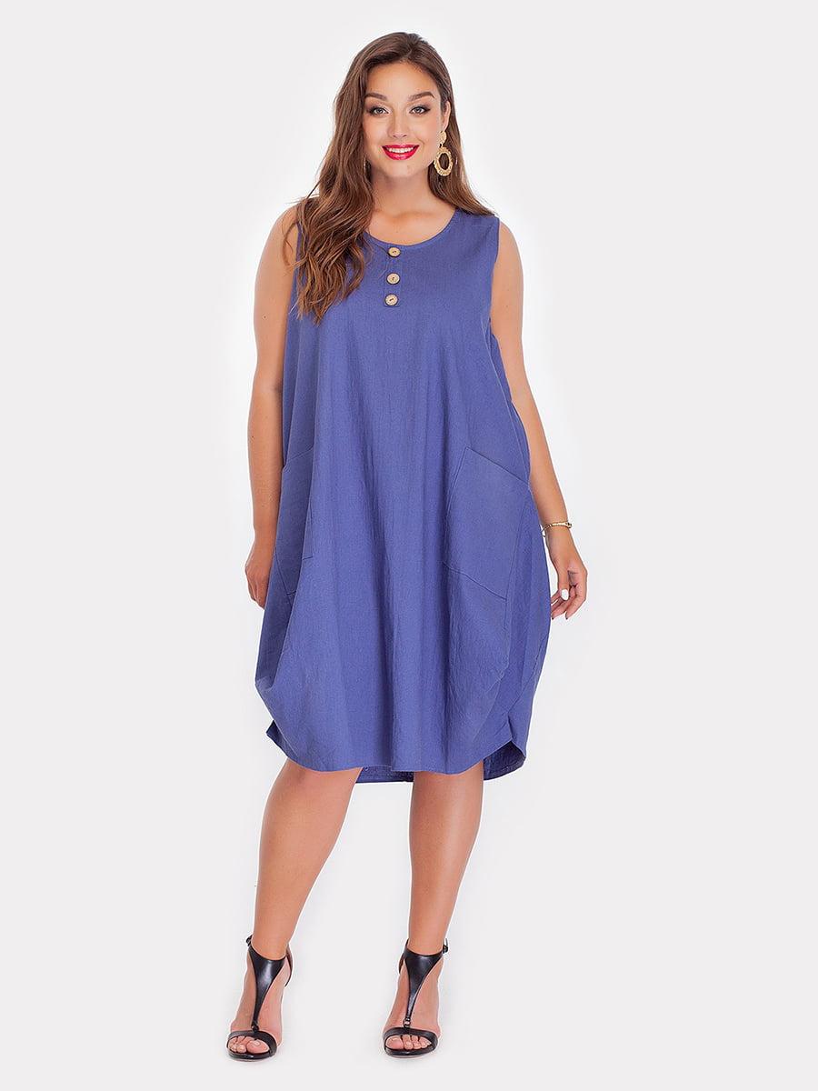 Платье джинсового цвета | 3747090