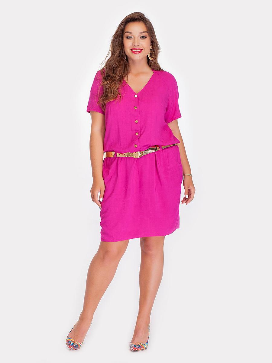 Платье цвета фуксии | 3747111