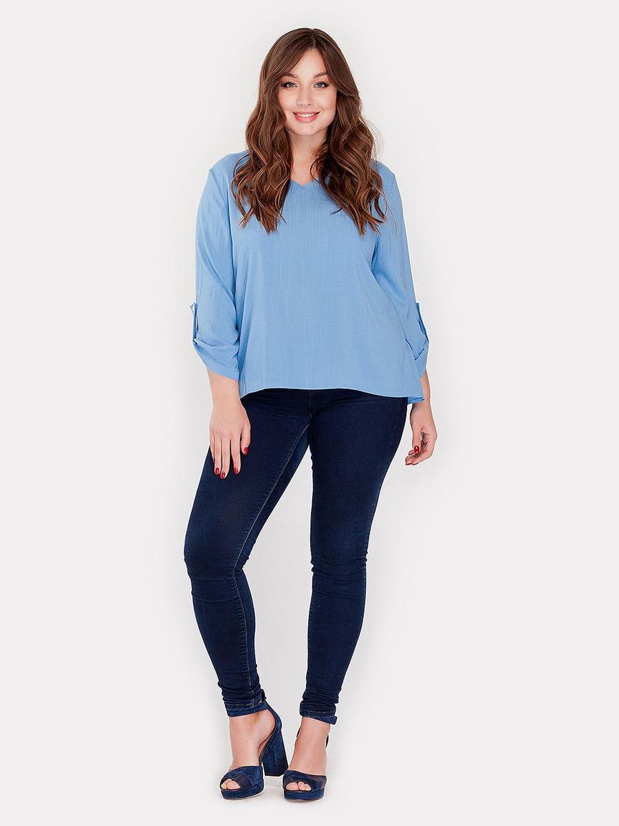 Блуза голубая | 3747142