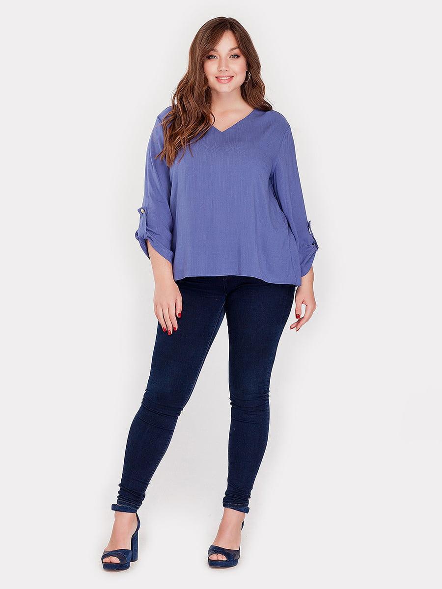 Блуза цвета джинс | 3747146