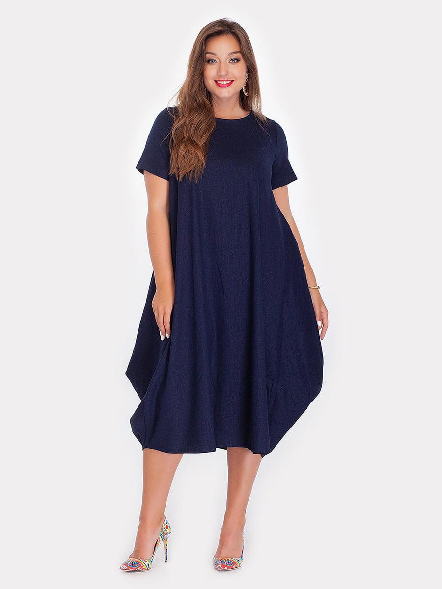 Платье темно-синее   3778372