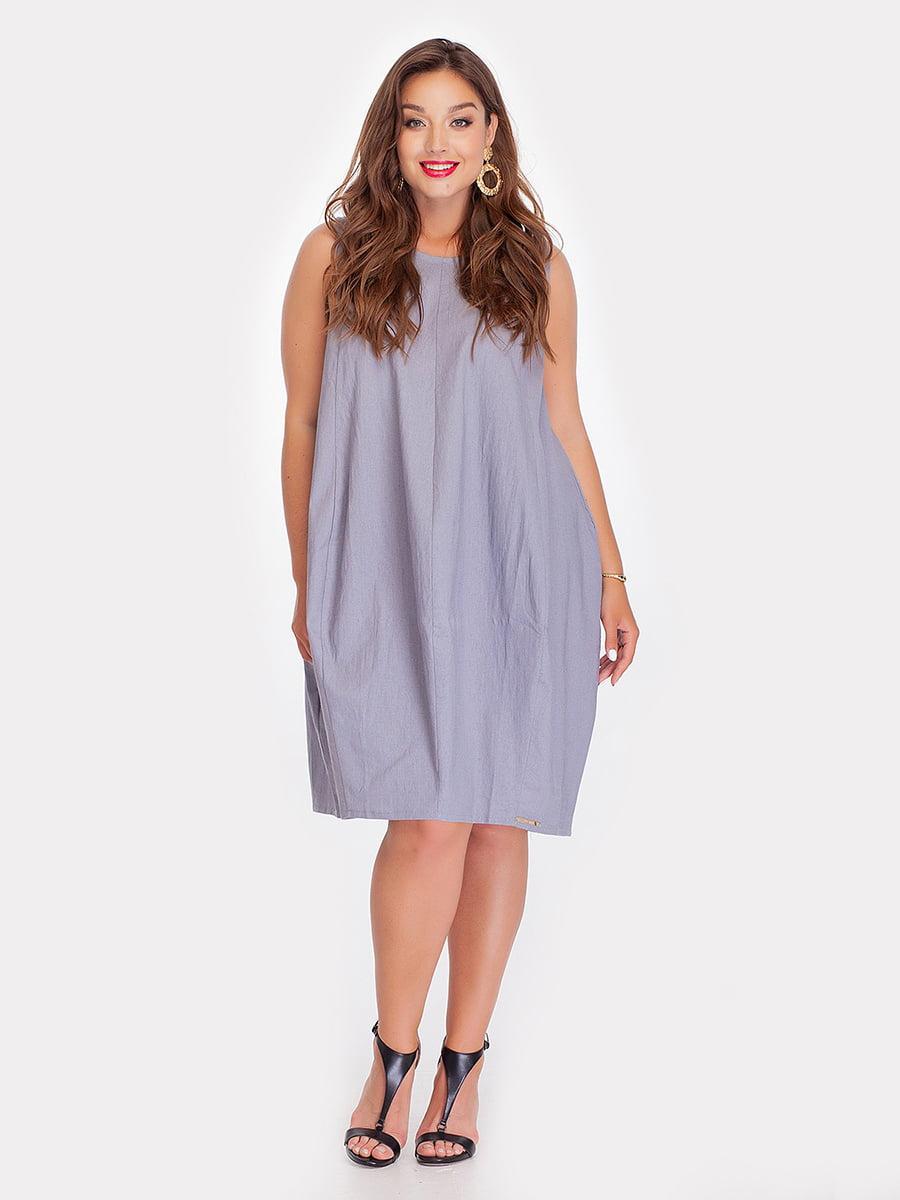 Платье серое | 3778382