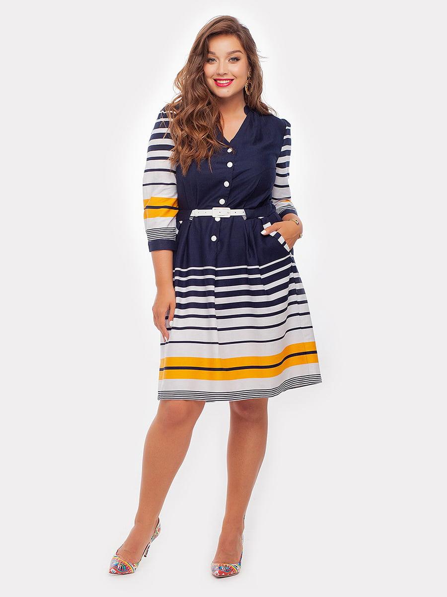 Платье в полоску | 3778419
