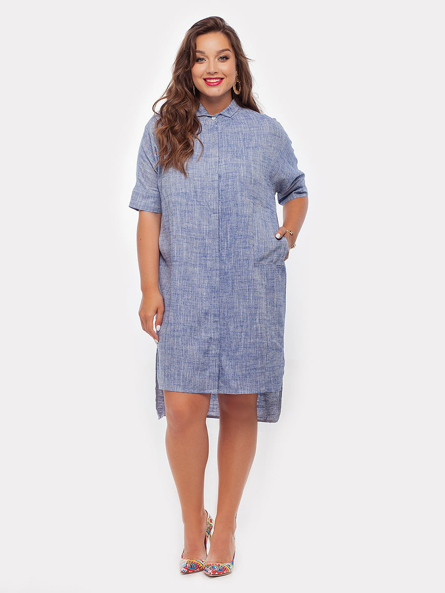 Платье синее | 4265975