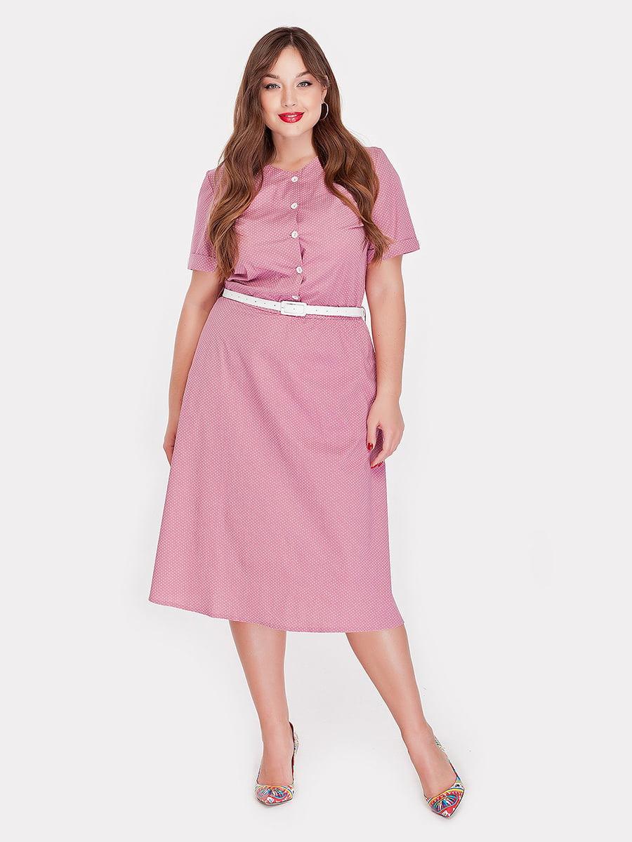 Платье фрезового цвета   4396054