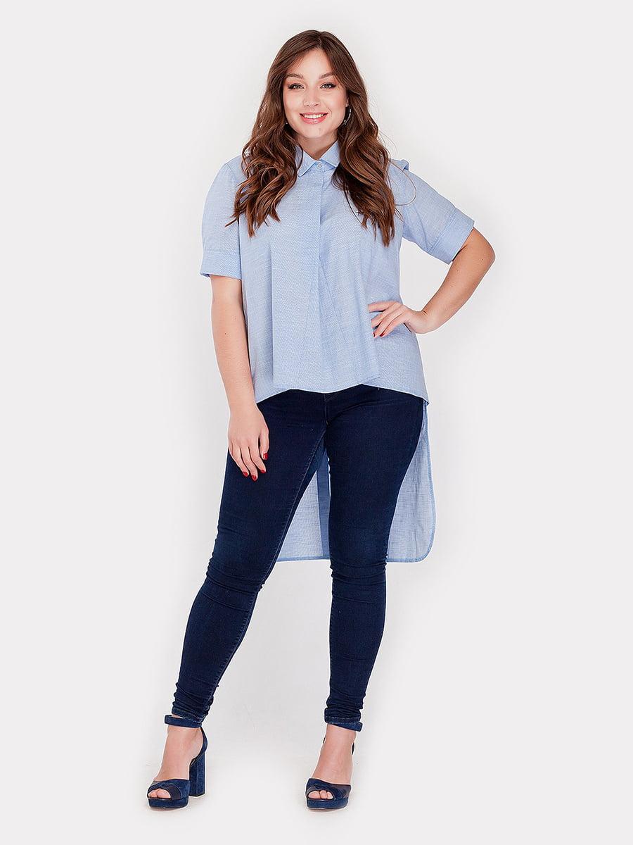 Рубашка голубая | 4396076