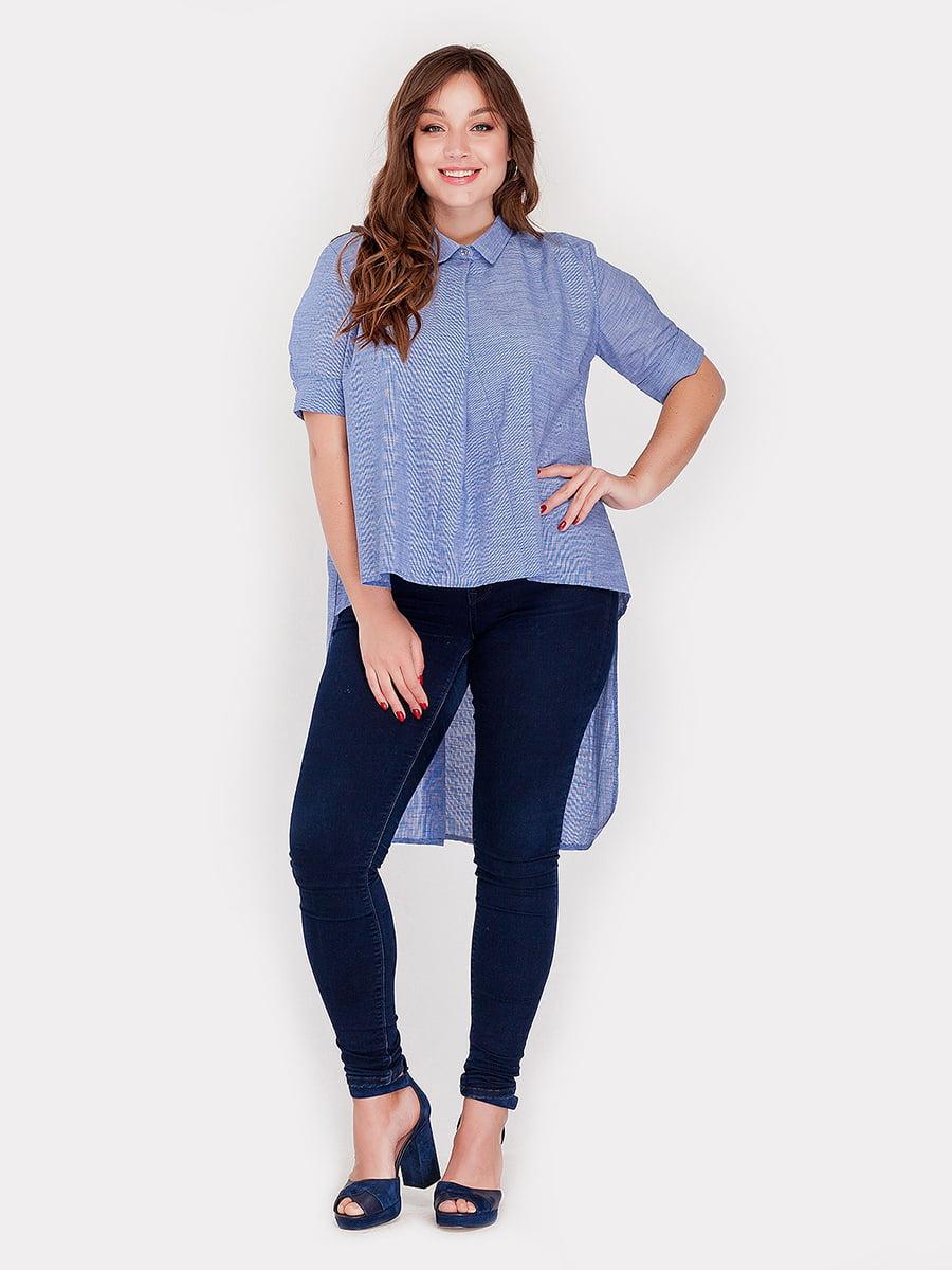 Рубашка синяя | 4396077