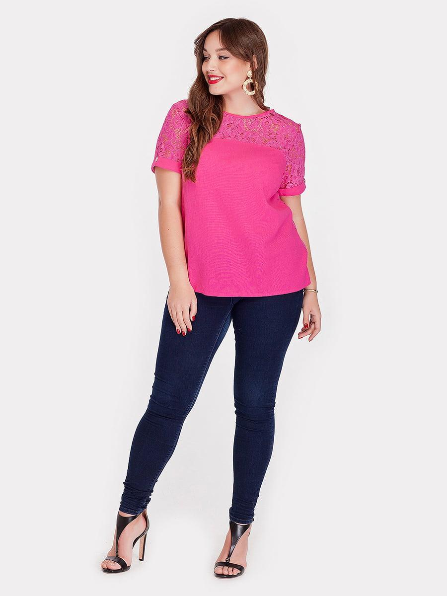 Блуза цвета фуксии   5082165
