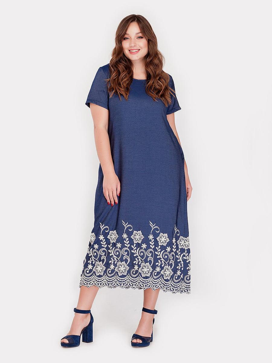 Платье синее   5082167