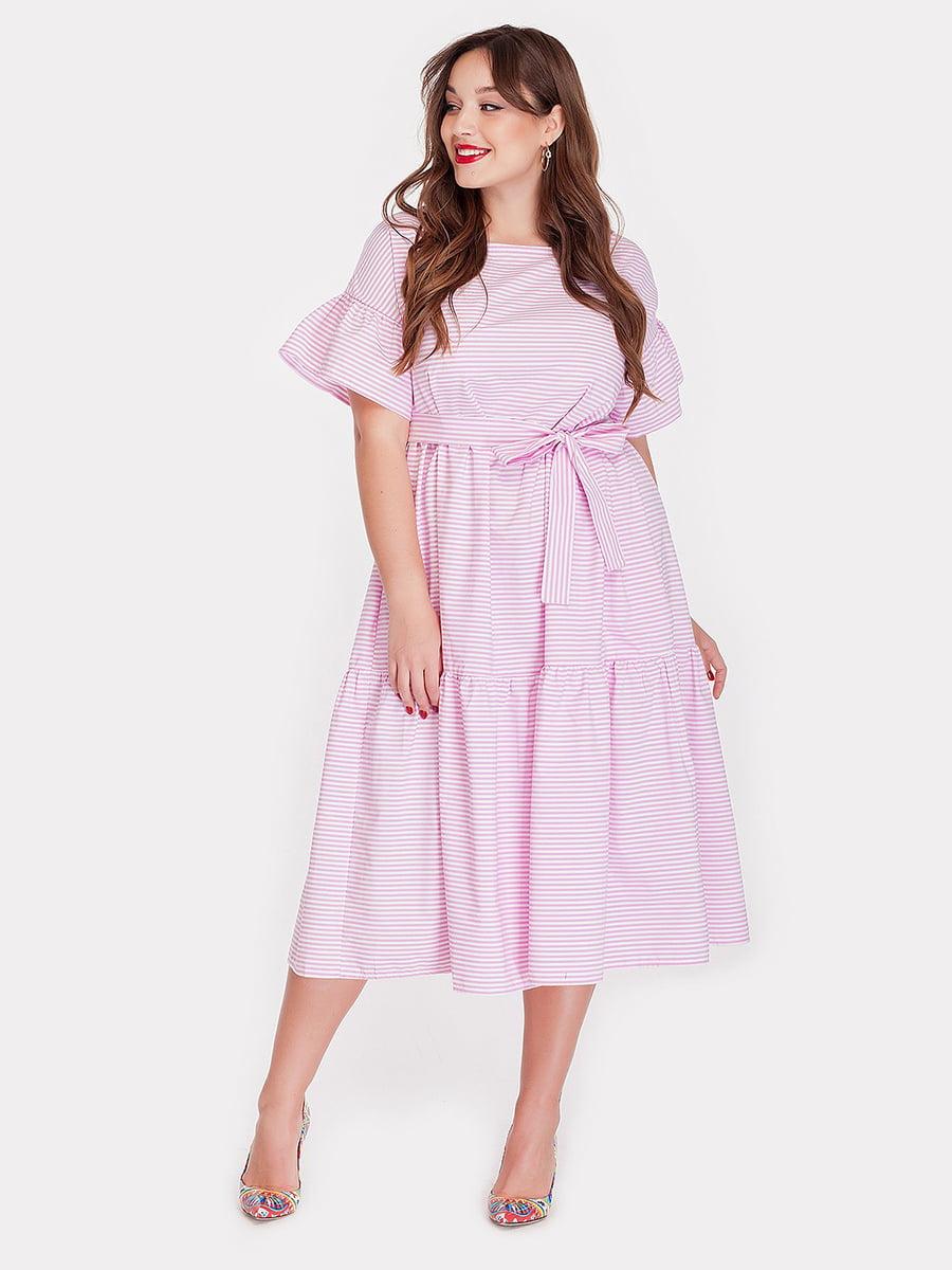 Платье в полоску | 5082174