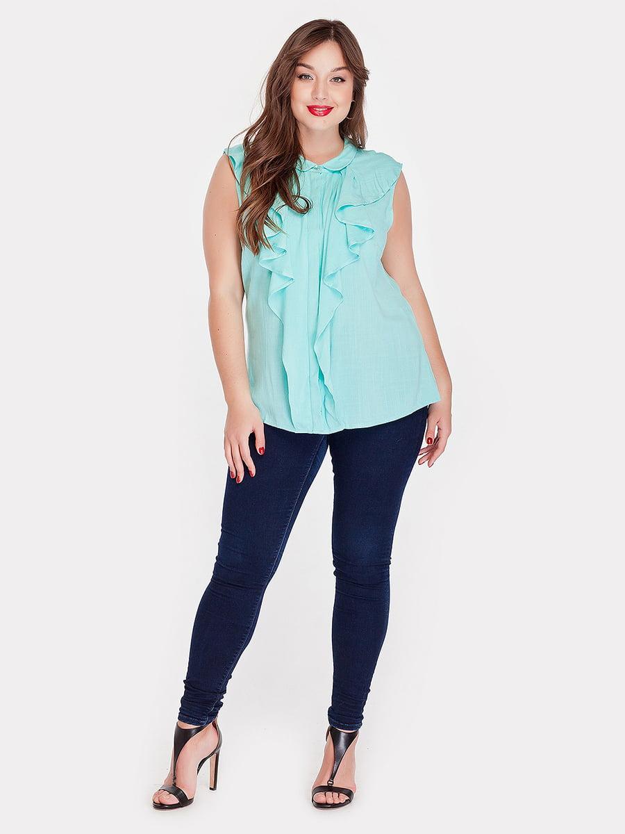 Блуза мятного цвета | 5082181