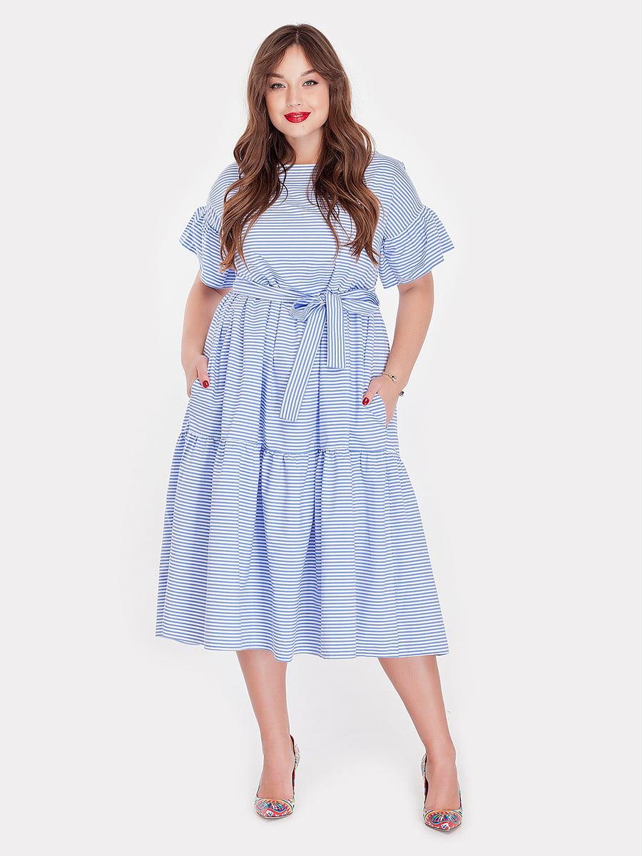 Платье в полоску | 5111528