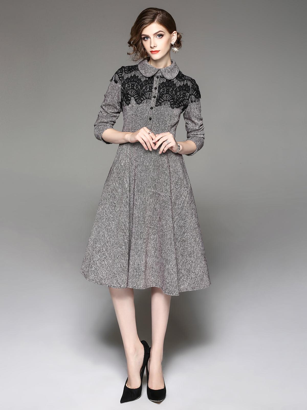 Платье серое | 5155161