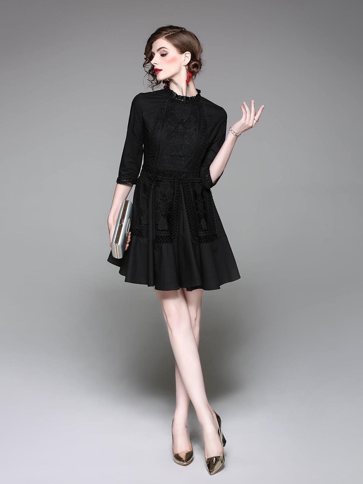 Платье черное | 5155166