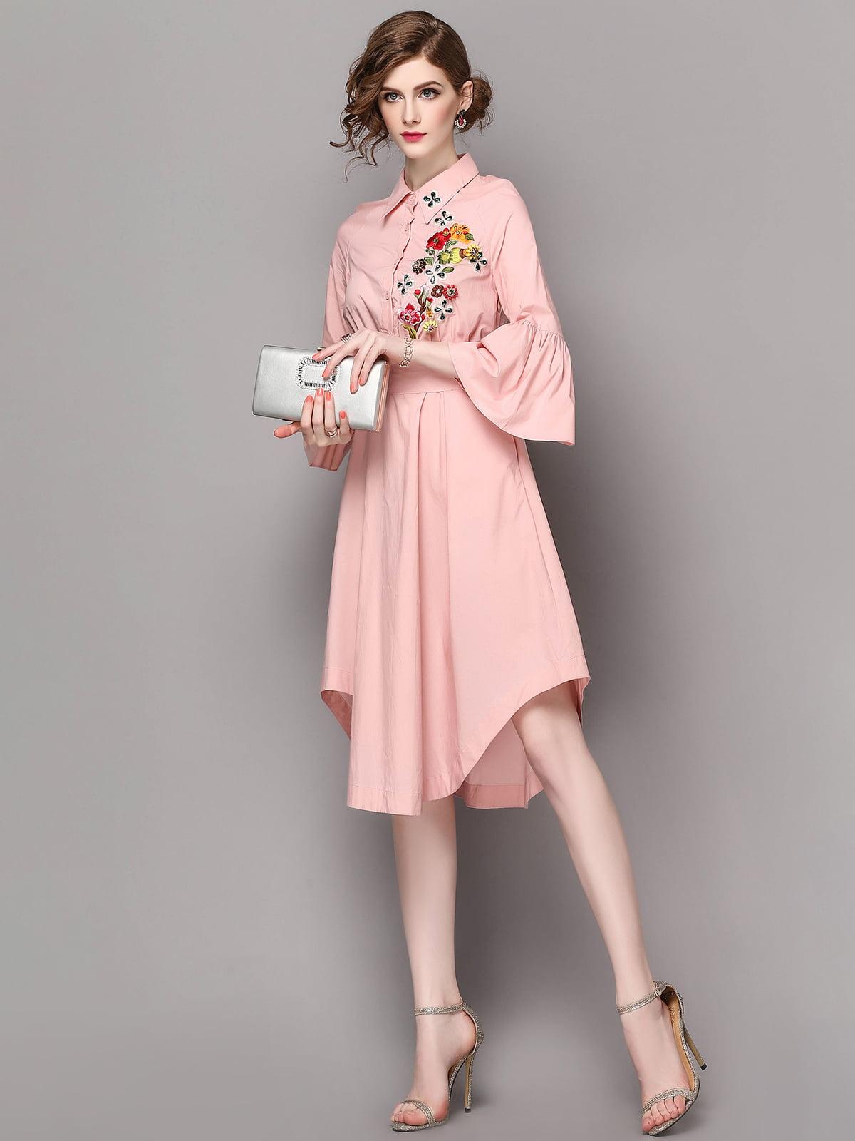 Платье розовое | 5155170