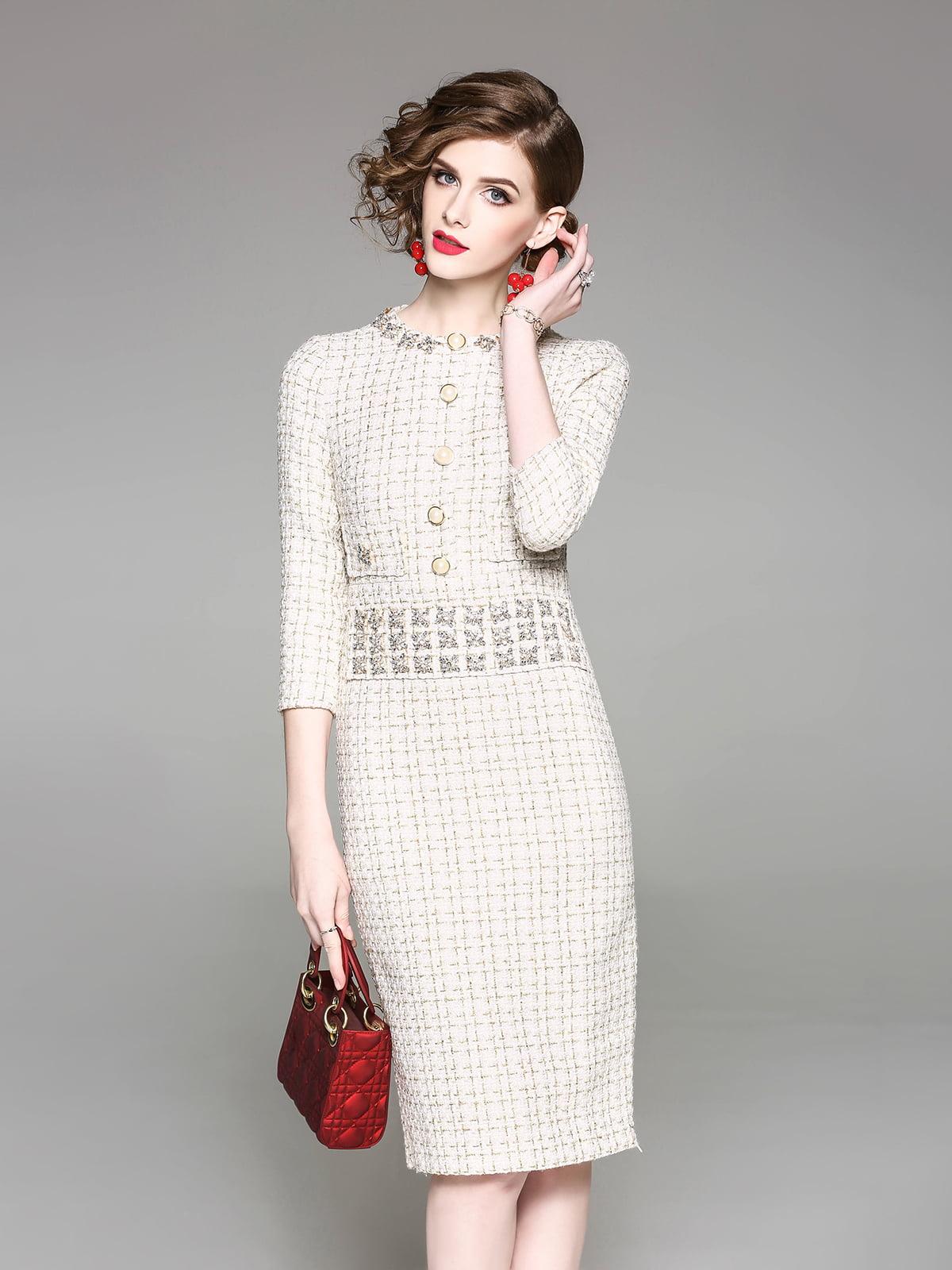 Платье бежевое | 5155175