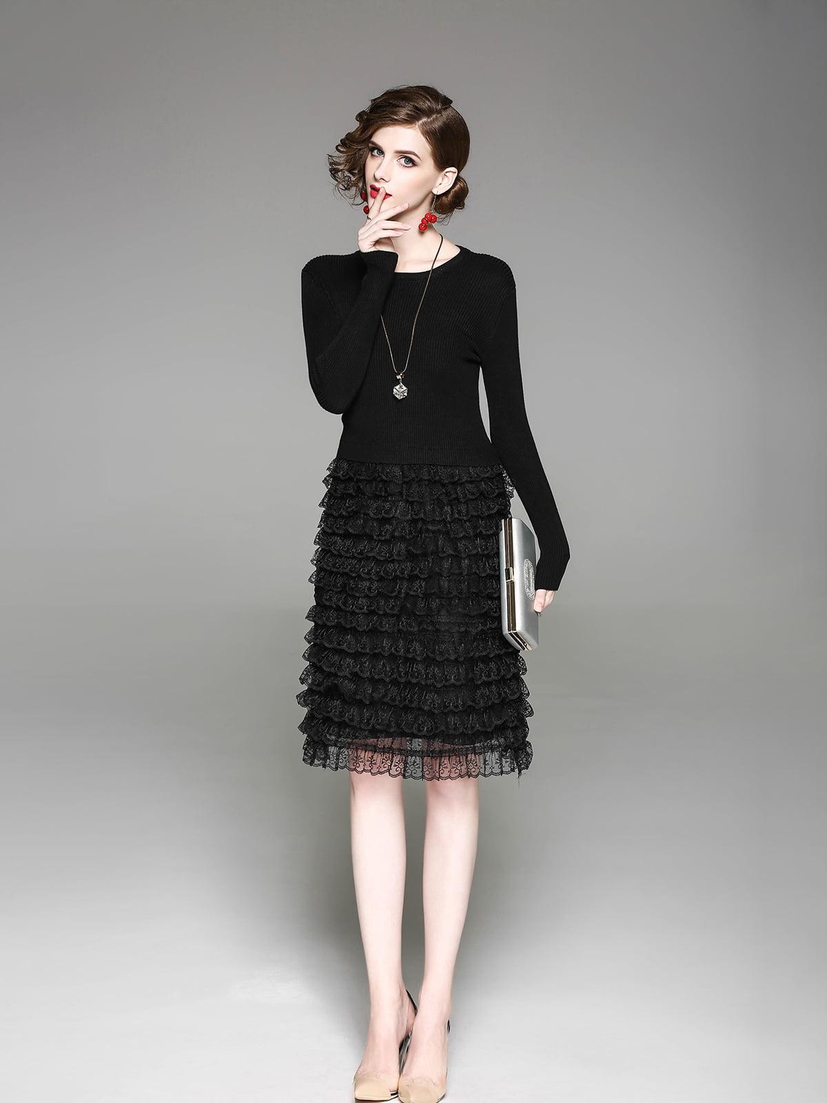 Платье черное | 5155177