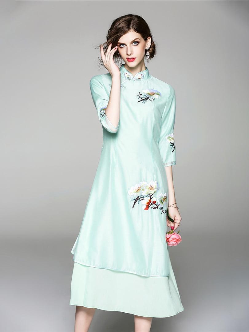 Платье зеленое | 5155183