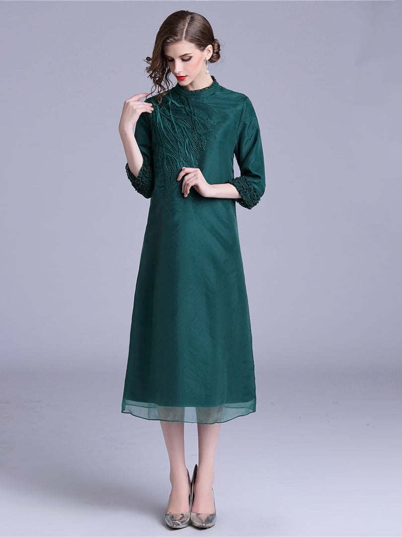 Платье зеленое | 5155196